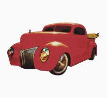 Surfin Forty Ford Pickup T-Shirt and More! Kids Tee