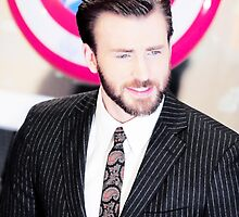 Chris Evans | Captain America: The Winter Soldier premiere by NaimaDahmer