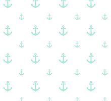 Mint Anchors by ImageNugget
