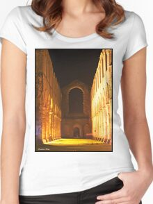 fountains Abbey Women's Fitted Scoop T-Shirt
