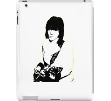 Jeff Beck iPad Case/Skin