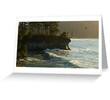 The Sentinel of Juan de Fuca Greeting Card