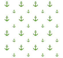 GrassGreen Anchors Photographic Print