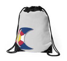 Colorado Moonlight Drawstring Bag