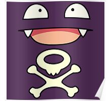 Koffing face Poster