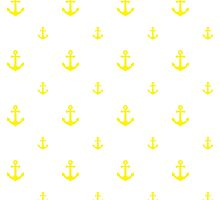Yellow Anchors by ImageNugget