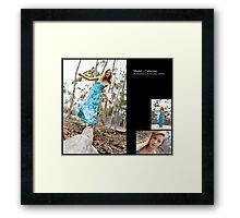 December 2010 Model Catherine Framed Print