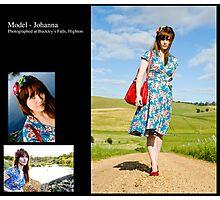 November 2010 Model Johanna Photographic Print