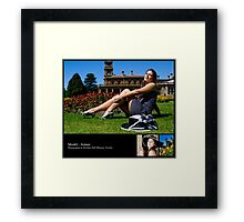 October 2010 Model Aimee Framed Print