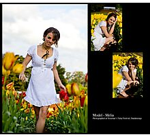 September 2010 Model Melia Photographic Print