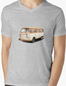 Old vw van Mens V-Neck T-Shirt