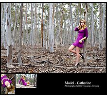 August 2010 Model Catherine Photographic Print