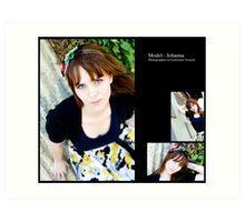 July 2010 Model Johanna Art Print