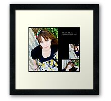 July 2010 Model Johanna Framed Print