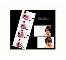 May 2010 Model Melia Art Print