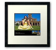 April 2010 Model Aimee Framed Print