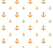 Orange Anchors by ImageNugget