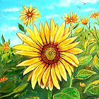 Golden Sunflower by © Linda Callaghan