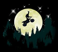 Night Riding - A Motocross Love Story by wildredhead