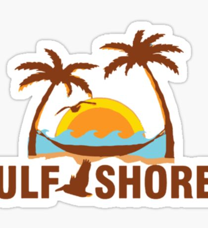 Gulf Shores - Alabama Sticker