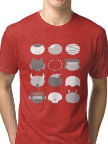 Minimalist B-Movie Monsters Tri-blend T-Shirt