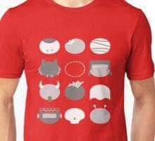 Minimalist B-Movie Monsters Unisex T-Shirt