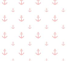 Light-Pink Anchors by ImageNugget