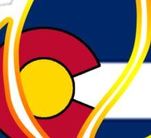 Colorado Campfire Sticker