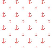 Pink Anchors by ImageNugget