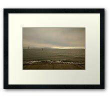 Facing North, San Francisco Framed Print