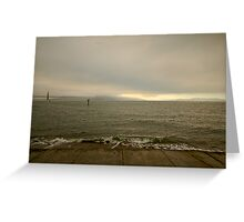 Facing North, San Francisco Greeting Card