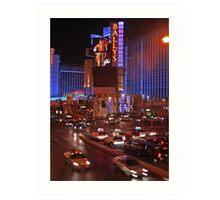 Las Vegas - Strip Art Print