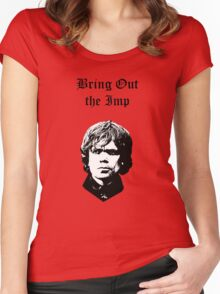 Bring Out the Imp Women's Fitted Scoop T-Shirt