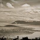 Hazy Hobart, Tasmania by Liam Byrne
