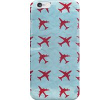 Retro airplanes iPhone Case/Skin