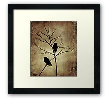 enter the dusk Framed Print