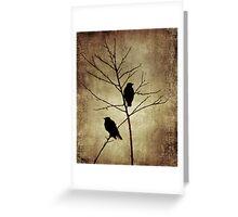 enter the dusk Greeting Card