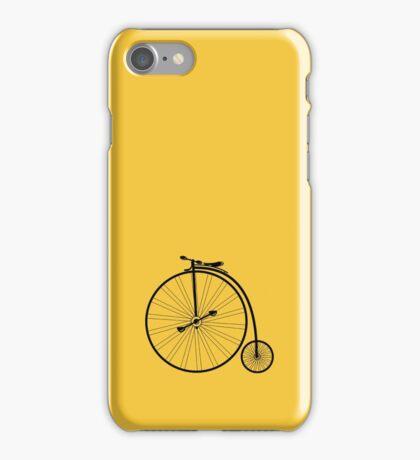 vintage bike iPhone Case/Skin
