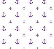 Light-Purple Anchors by ImageNugget