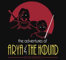 Arya & The Hound by Baznet