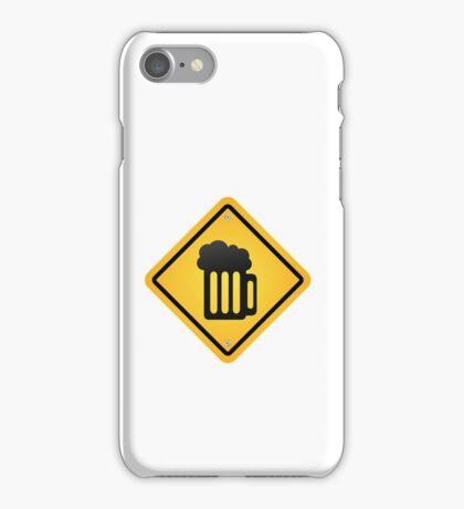 beer sign iPhone Case/Skin