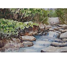 River Rush Photographic Print
