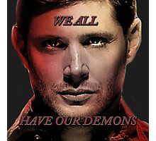 We All Have Our Demons Photographic Print