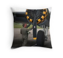 Keeping Her Flying Throw Pillow