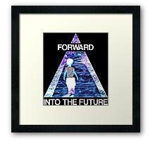 Forward Into the Future Framed Print