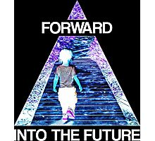 Forward Into the Future Photographic Print