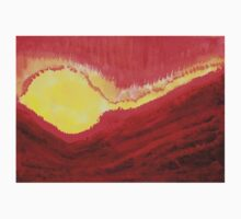 Wildfire original painting Kids Clothes