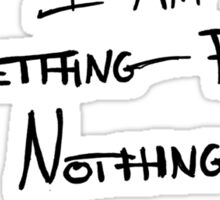 Something From Nothing Sticker