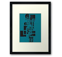 Warpe 2 Framed Print