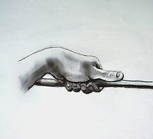 Hand Study. by Richard  Tuvey